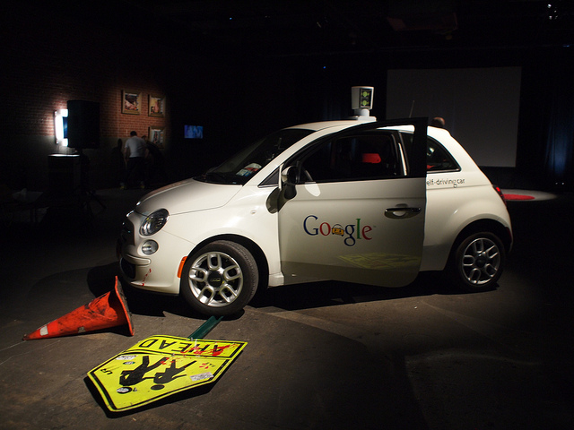 car google Autonomous Vehicles fiat500